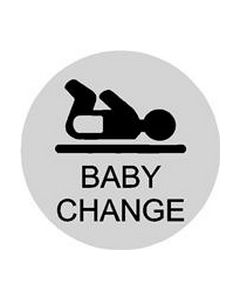 Baby Changing Door  Sign - Pack of 5