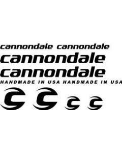 Cannondale Bicycle Decal Sticker Set