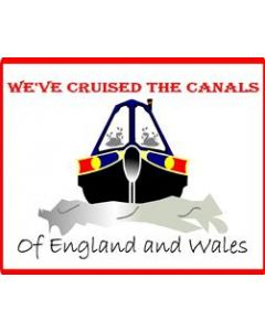 Funny We've Cruised The Canals Sticker