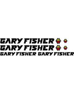 Gary Fisher Bicycle Decal Sticker Set