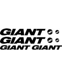 Giant Bicycle Decal Sticker Set