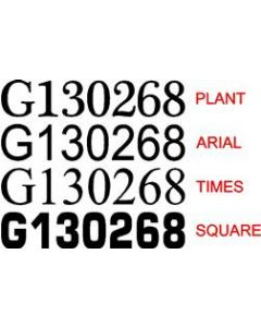 Great Ouse Boat Number Stickers