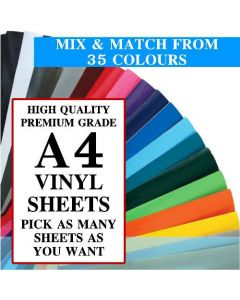 GALLOWAY CRAFTS Vinyl Sheets A4 Size