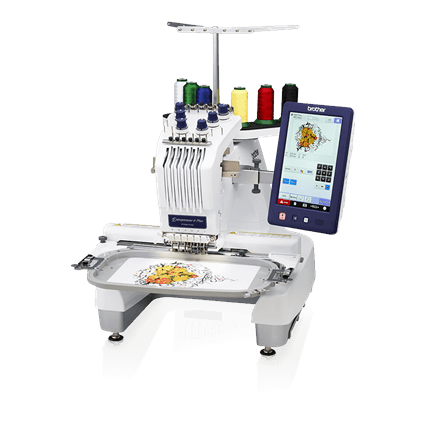 Our embroidery machine