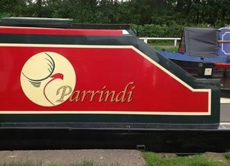 Custom Vinyl Boat Name