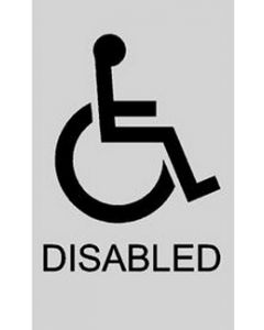 Disabled Door Sticker