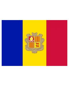 Andorra Flag Sticker
