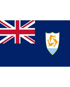 Anguilla flag sticker