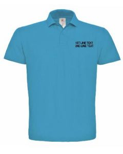 EMBROIDERED POLO SHIRT BY THE GRAPHICS OAT