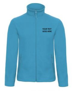 B&C Embroidered fleece text only