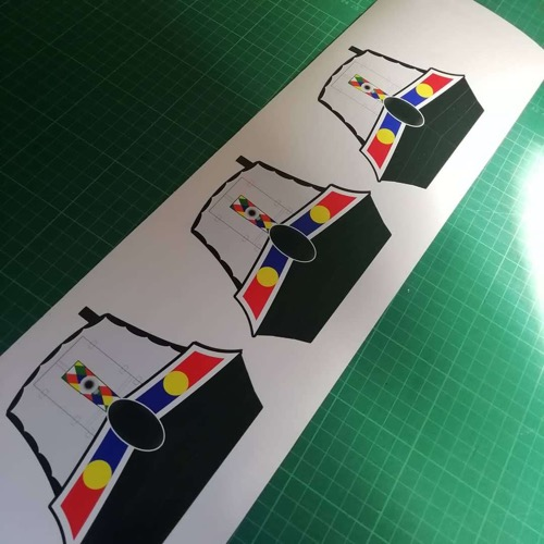 Custom Shape Stickers